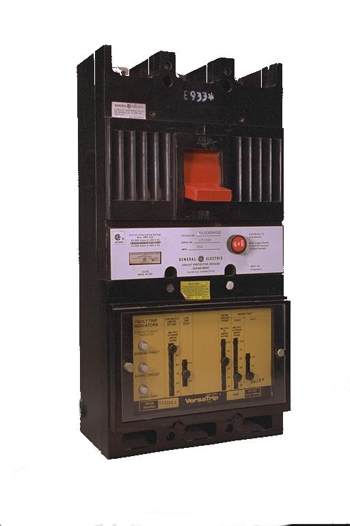 General Electric Molded Case Circuit Breakers