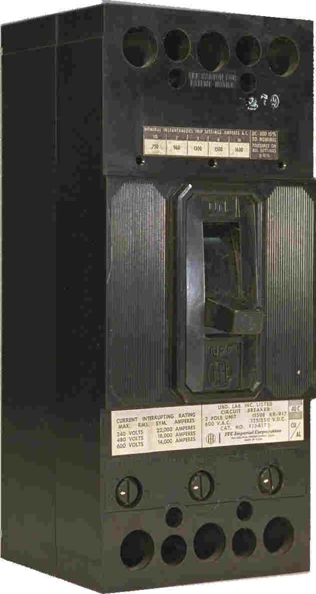 ITE Seimens Gould Imperial FJ63b225 e43b100 ed63b100 he63b100 fxd63b200 jj63b400 jl63b400 hj63b400 lj63b600